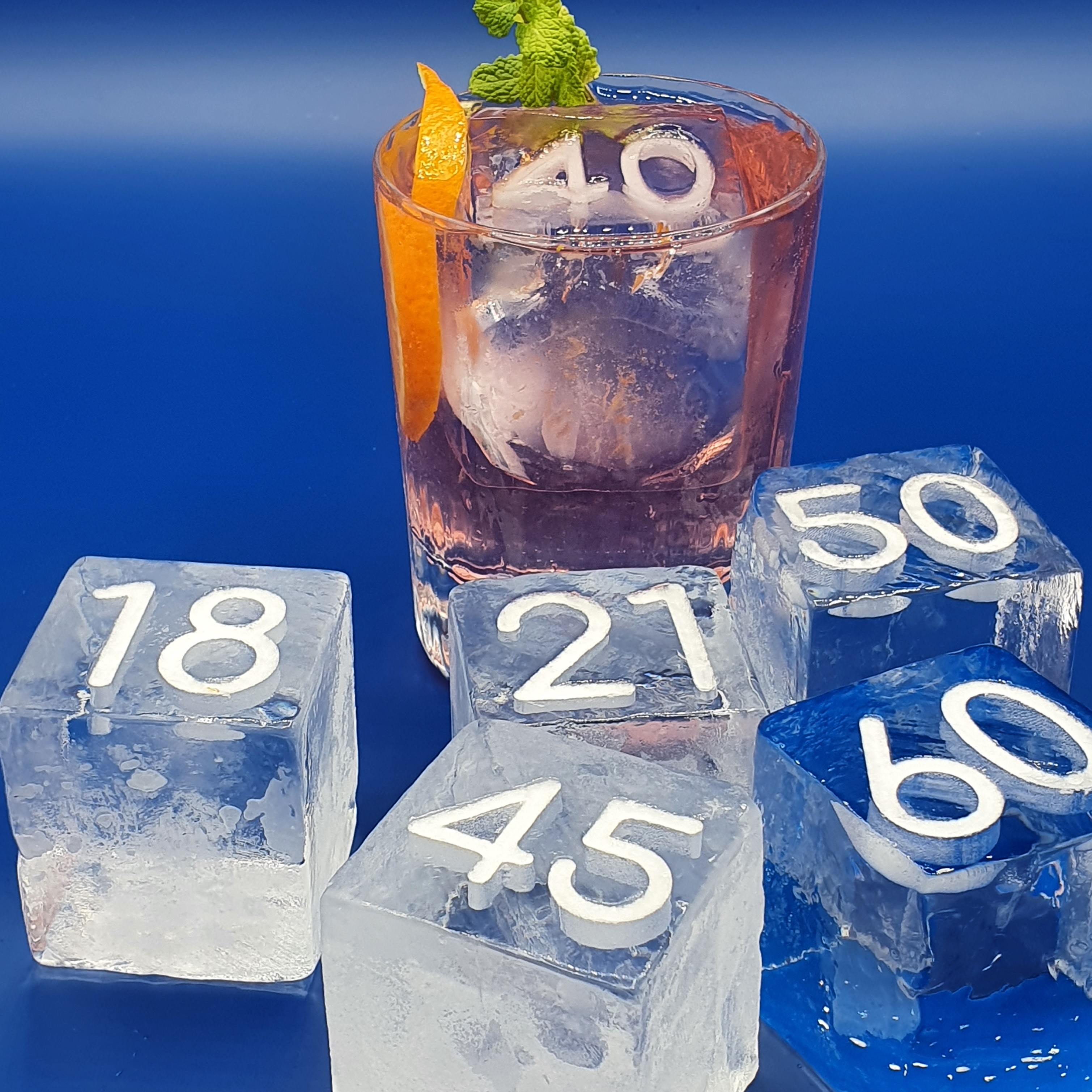 Cocktail party ice